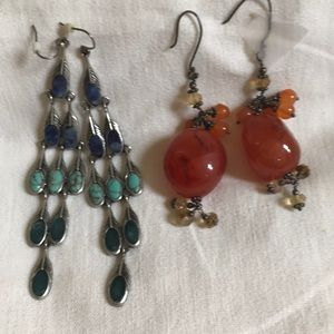 Jewelry - Dangled Earrings Bundle 3 Pairs